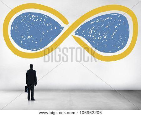 Infinity Eternity Loop Forever Eternal Concept