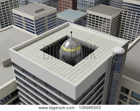 Roof Of A Skyscraper 4.