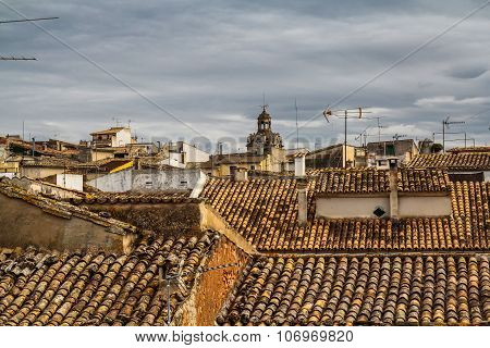 The rooftops of Alcudia