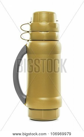 The golden thermos.