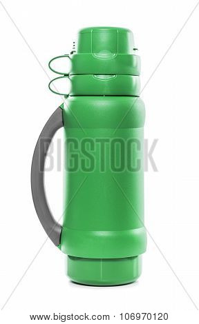 The green thermos.