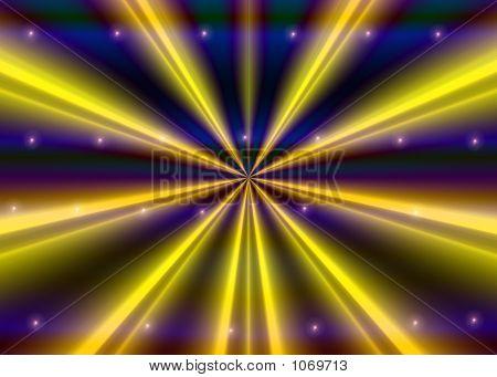 Yellow Rays