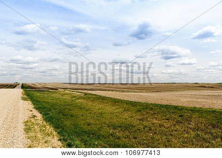 Canadian Prairies Scenic View