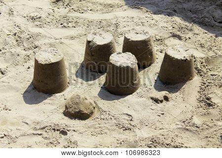 caslte sand