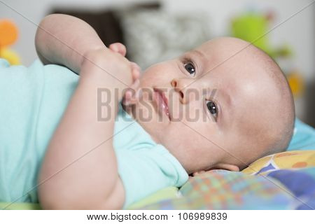 Four months old  infant