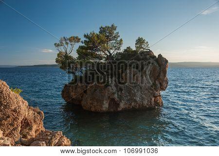Famous Rock In Brela