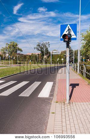 Zebra - pedestrian crossing
