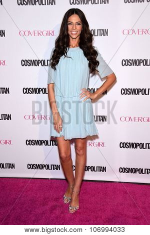 LOS ANGELES - OCT 13:  Terri Seymour arrives to the Cosmopolitan's 50th Birthday Party on October 13, 2015 in Hollywood, CA.