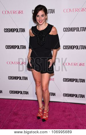 LOS ANGELES - OCT 13:  Lyndon Smith arrives to the Cosmopolitan's 50th Birthday Party on October 13, 2015 in Hollywood, CA.