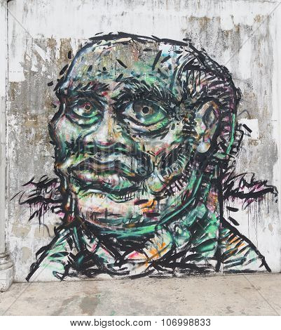 Face Mural