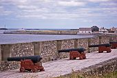 foto of acadian  - fortress de louisbourg in cape breton nova scotia - JPG