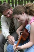 Father Daughter Guitar Lesson 2