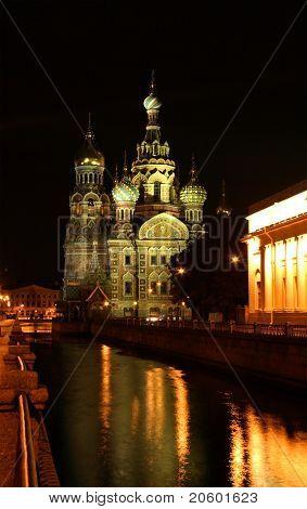 Saint-Petersburg, Russia, church