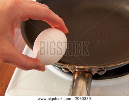Egg On Pan