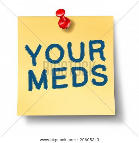 Your Meds Reminder Office Note