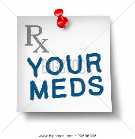 Your Meds Reminder Isolated