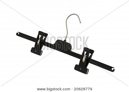 Plastic Black Pants Hanger