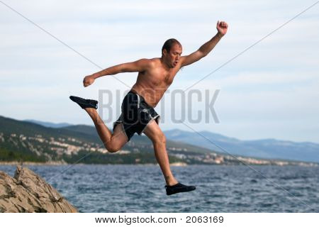 Jumping Away