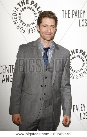 BEVERLY HILLS - MAR 16:  Matthew Morrison arrives at the 2011 PaleyFest honoring 'Glee' held at the Saban Theater in Beverly Hills on March 16, 2010.