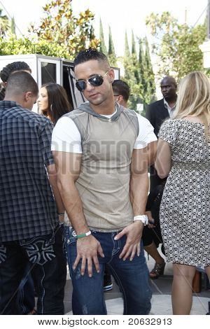 LOS ANGELES - JUL 11:  Mike 'The Situation' Sorrentino arrives at the KIIS-FM 'Now 34 and The Jersey Shore' party on July 11, 2010 at Hollywood Tower, Los Angeles, California.