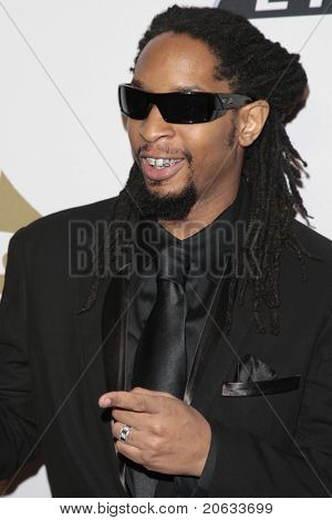 BEVERLY HILLS - FEB 7:  Lil Jon arriving at the Clive Davis and The Recording Academy present the Annual Pre-Grammy Gala in Beverly Hills, California on February 7, 2009.