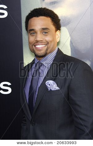 LOS ANGELES - AUG 4:  Michael Ealy arriving at the premiere of Screen Gems' 'Takers' at the Arclight Cinerama Dome in Los Angeles on August 4, 2010.