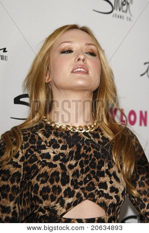 LOS ANGELES - MAR 24:  Kaylee DeFer at the 12th Anniversary Issue party for Nylon magazine at Tru Hollywood in Los Angeles, California on March 24, 2011.