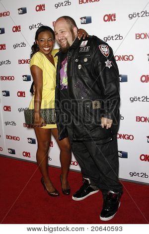 LOS ANGELES - APR 14:  Tanya Chisholm, Stephen Kramer Glickman at the OK magazine 'Sexy Singles Party' held at The Lexington Social House in Los Angeles, California on April 14, 2011.