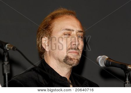 SAN DIEGO - JUL 23:  Nicholas Cage at a panel for the movie