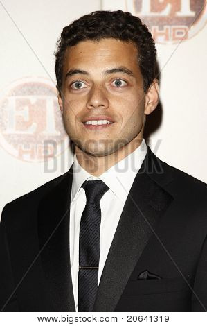 LOS ANGELES - AUG 29:  Rami Malek at the Entertainment Tonight 62nd Annual Emmy After Party at Vibiana, Los Angeles, California on August 29, 2010.
