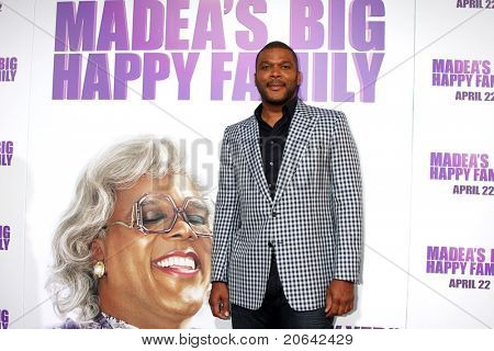 LOS ANGELES - APR 19:  Tyler Perry at the