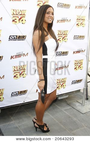 LOS ANGELES - JUL 11:  Sammi Sweetheart Giancola at the KIIS-FM 'Now 34 And The Jersey Shore' party held at Hollywood Tower, Los Angeles, California on July 11, 2011.
