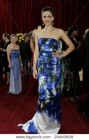 LOS ANGELES - MAR 7:  Maggie Gyllenhaal arrives at the 82nd Annual Academy Awards, Oscars, on March 7, 2010 at the Kodak Theatre in Los Angeles, California on March 7, 2010.