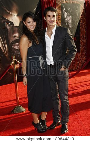 LOS ANGELES - MAY 2:  Booboo Stewart, Fivel Stewart at the premiere of Thor at the El Capitan Theater, Los Angeles, California on May 2, 2011.