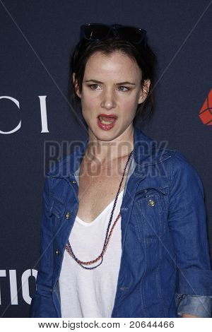 WEST HOLLYWOOD - FEB 13:  Juliette Lewis at the Gucci and RocNation Pre-GRAMMY Brunch in West Hollywood, California on February 13, 2011.