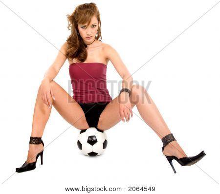 Fashion Woman Portrait - Underwear