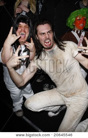 LOS ANGELES - APR 9:  Andrew W. K. at the Vans Warped Tour 2010 Press Conference and Kick-Off Party, Key Club, Los Angeles, California on April 9, 2010.
