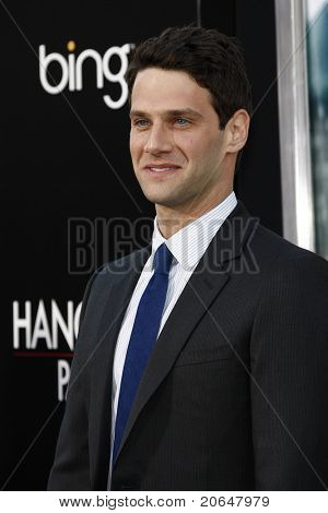 LOS ANGELES - MAY 19: Justin Bartha at the premiere of 'The Hangover Part II' held at the Grauman's Chinese Theater in Los Angeles, CA on May 19, 2011.