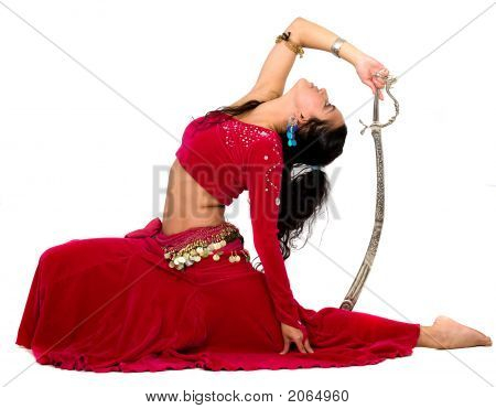 Beautiful Belly Dancer