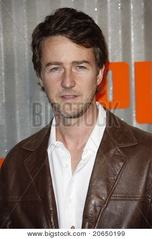 LOS ANGELES - NOV 11: Ed Norton at PUMA Presents The African Bazaar Party in Los Angeles, California on November 11, 2009.