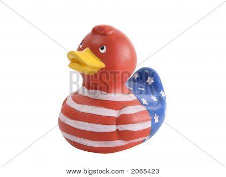 Patriotic Duck