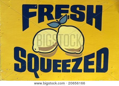 Freshed Squeezed Lemons