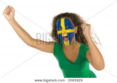 Young screaming Swedish