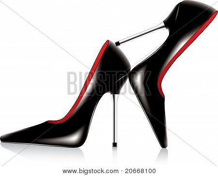 Pair Of High Heel Shoes