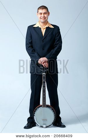 Man With Banjo.