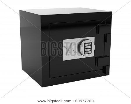 Caja fuerte negro