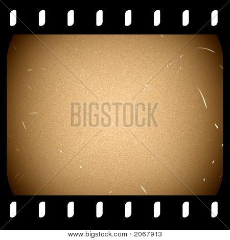Old Filmstrip Frame