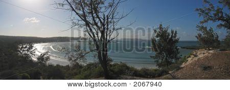 Bay Of The Dunes At The Sundown, Antsiranana And Diego Suarez, Madagascar, Panoramique