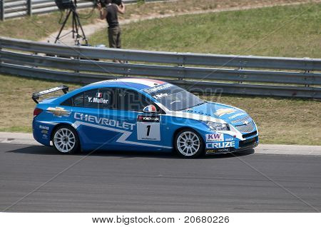 WTCC- Yvan Muller winner on Hungaroring - 2011