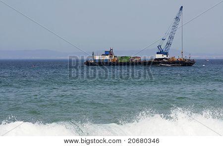 Dredger Barge